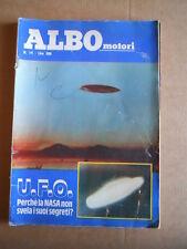 ALBO Motori n°14 1979 Storia dell' AUDI   ed. Universo   [G534C]