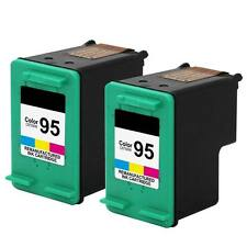 2 pk 95 C8766WN Color Ink For HP PSC 1600 1610 2350 2355 Officejet 100 150