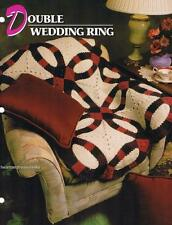 Double Wedding Ring Annie's Attic Crochet Afghan Pattern Instructions