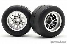 Ride 26023 RC F-104 Rubber Rear Tires with wheels assembling R-1 High Grip