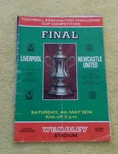454) Liverpool v Newcastle United fa cup final 4-5-1974