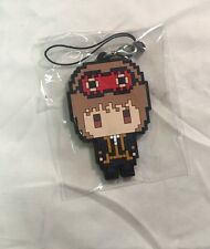 J-WORLD Gintama Dot Town Rubber Strap - Okita Sougo