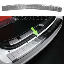 Rear Bumper Sill Plate Protector For Ford Edge 2007-2014 Stainless Steel