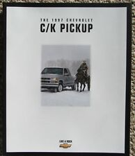 1997 Chevy Pickup Truck Brochure Z71 4x4 Crew Cab Big Dooley Sportside Silverado