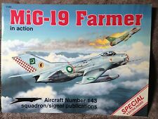 MiG-19 Farmer in Action Squadron Signal Book 1143 Very Good condition