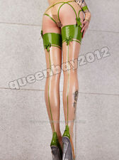 100% Latex Rubber Gummi 0.45mm Stockings Leggings Suit Catsuit