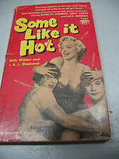 SOME  LIKE  IT  HOT  BILLY  WILDER & I. A. L. DIAMOND  FIRST PRINT  1959