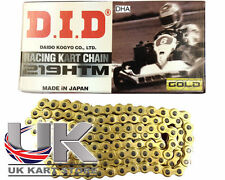 DID DHA 219 Pitch HTM G&B Chain 102 Links UK KART STORE