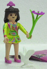 FLOWER POWER NIÑA Playmobil figuras 7 CHICAS 5538 zu Haus Fairy Flores TOP 415