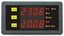 Battery Monitor DC LED Digital Panel Combo AMP Volt Watt Amp Hour Meter 200V750A