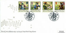 16 JUNE 1992 CIVIL WAR ROYAL MAIL FIRST DAY COVER THE BARBICAN LONDON EC SHS