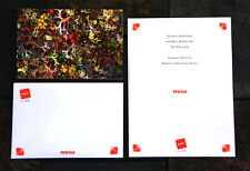 10 New Pentax Christmas / Holiday / New Years Greeting Cards w/ envelopes