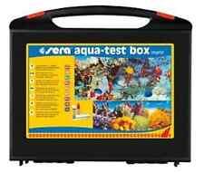 Sera Aqua-Test Box Marin Testlabor Testkoffer Meerwasser m Reagenzien Wassertest