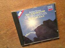 Richard Strauss - Alpensinfonie [CD Album] DECCA Solti West Germany