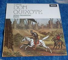 STRAUSS DON QUIXOTE LORIN MAAZEL UK LP DECCA SXL 6367 WBG ED3