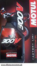 Motul 300V 300 V Off Road Racing 15W60 Factory Motorenöl Yamaha YZF YZ-F 450