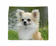 Chihuahua Dog Microfibre Glasses Camera Lens Phone Screen CD Cleaning Cloth No 1