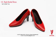 VERYCOOL VCF2017 1/6 Scale RED High-Heel Shoes Classic suit Women's shoes