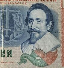 1953 Nederland 10 gulden banknote  very nice !