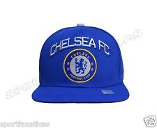 Chelsea Fc Snapback Adjustable Cap Hat soccer - blue - white - new season
