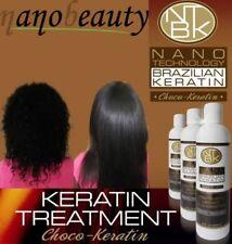 Choco Con Queratina Brasileña golpe seco alisado del cabello tratamiento Kit Completo 270mls
