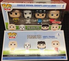 POP MINIS PEANUTS NEW CHARLIE BROWN SNOOPY LUCY AND LINUS NEW