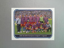 PANINI CHAMPIONS LEAGUE 2010 2011 - N.558 LEGENDS BARCELONA 2005 2006