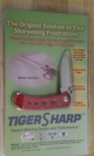 Tiger Sharp Knife Replaceable Head Knife. Sealed. Red. One extra blade   (67)
