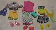 Barbie Doll KELLY CLOTHES/SHOES~Dress up Summer fun playtime purse