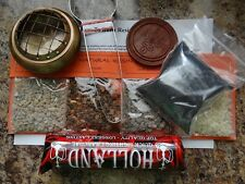 Resin Incense Starter Kit All in One Combo Pack! Wiccan Pagan Metaphysical