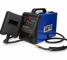 MIG 110V 135AMP GAS NO GAS WELDER Flux Wire Welding Machine Auto Feeding Torch