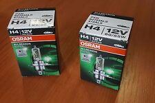 OSRAM Allseason Super H4 64193ALS - gelbes Licht Autolampen 55 Watt  2x Kit Set