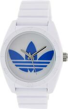 Adidas Men's Santiago ADH2921 White Silicone Quartz Watch