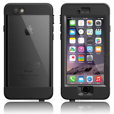 "LifeProof iPhone 6 4.7"" Nuud Series WaterProof Case Black Authentic OEM New"