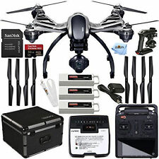 YUNEEC Q500 4K Typhoon Quadcopter with Camera and 3 Batteries+ SteadyGrip + Case