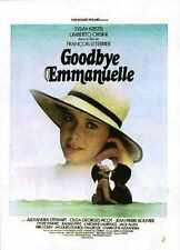Goodbye Emmanuelle Poster 01 Metal Sign A4 12x8 Aluminium