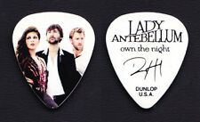 Lady Antebellum Dave Haywood Band Photo Guitar Pick - 2012 Own the Night Tour