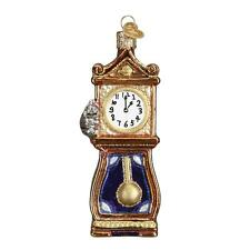 HICKORY DICKORY DOCK CLOCK NURSERY RHYME OLD WORLD CHRISTMAS ORNAMENT NWT 32230