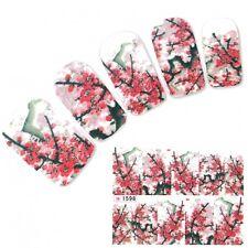 Nagel Sticker Nail Art Kirschblüten Nägel Fuß Aufkleber Water Decal