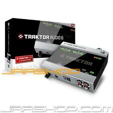 Native Instruments Traktor Audio 6 USB Audio Interface New JRR Shop