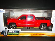 Jada Chevrolet Silverado 2014 Red 1/24