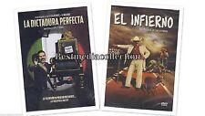 SEALED La Dictadura Perfecta y El Infierno DVD NEW Luis Estrada  Damian Alcazar
