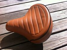BICYCLE SADDLE SEAT BROWN BEACH CRUISER BMX MTB CHOPPER COMFORT BIKES