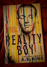 REALITY BOY by A.S.King Young Adult Contemporary Reality Fiction PBK Like New
