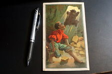 1800's Black Memorabilia Americana Trade Card Advertising Cave Bear