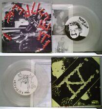 """I REFUSE IT! - 7"""" 1984 RARE ITALIAN alternative HC punk KBD clear wax EX-/EX++"""