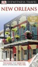 DK EYEWITNESS TRAVEL NEW ORLEANS - full-color guidebook with pull-out map
