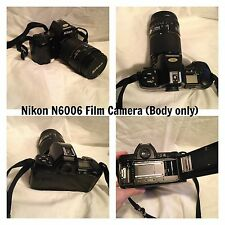 Nikon N6006 Film Camera & equipment (Flash, Lens, Shutter release)
