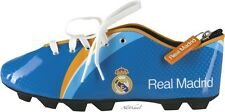 NEW REAL MADRID PENCIL CASE FOOTBALL BOOT SHOE SHAPE POUCH SACHET FOR KIDS BOYS