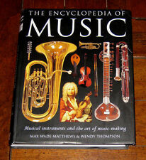 BOOK: The Encyclopedia of Music: Musical Instruments / Art Composers Performers